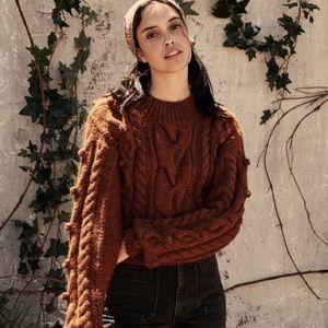 Doen Reed Sweater XS/S Cinnamon
